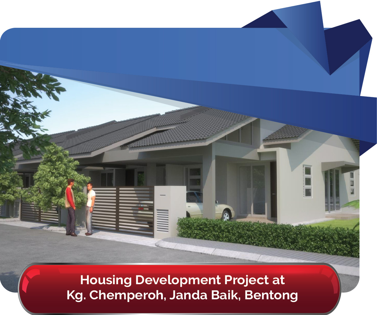 Housing Development Project at Kg. Chemperoh Janda Baik Bentong 01